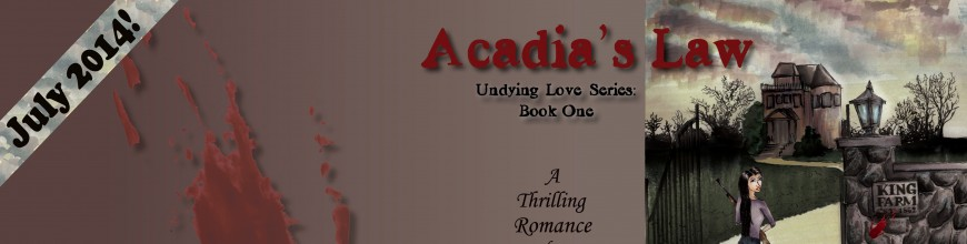 ACADIA'S LAW by Tracy Ellen Blog Tour